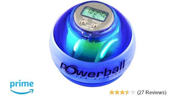 Powerball the original/® Max Blau mit Digital-Drehzahlmesser und 6 LEDs