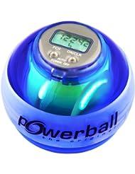 Powerball con contagiri digitale e 6 led, Blu (blau), Taglia unica