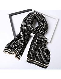 0ebb4b58b4a DEED Écharpe-Femme Hiver écharpe épaisse écharpe en Tricot écharpe ...