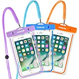 Waterproof Case, 3 PACK Glow in the Dark - Best Reviews Guide