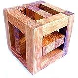 Logica Jeux Art. Chasse Royale - Casse-tête 3D en Bois précieux - Difficultè 5/6 Incroyable - Collection Leonardo da…
