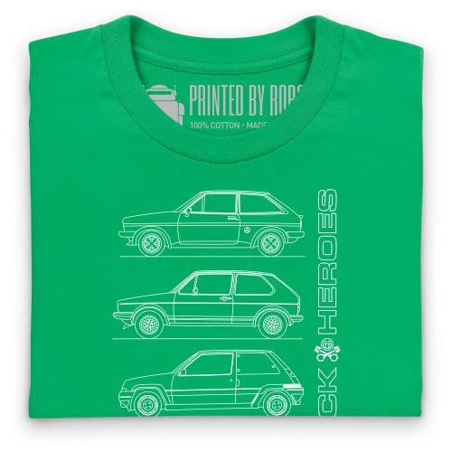 Hatchback Heroes T-Shirt, Damen Keltisch-Grn