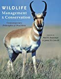 Wildlife Management and Conservation presents a clear overview of the management and conservation of animals, their habitats, and how people influence both. The relationship among these three components of wildlife management is explained in chap...