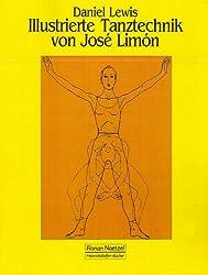 Illustrierte Tanztechnik von Jose Limon.