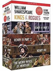 Kings And Rogues Box Set (Henry IV/ VIII/ Merry Wives) [Globe on Screen] [DVD] [2012] [NTSC]