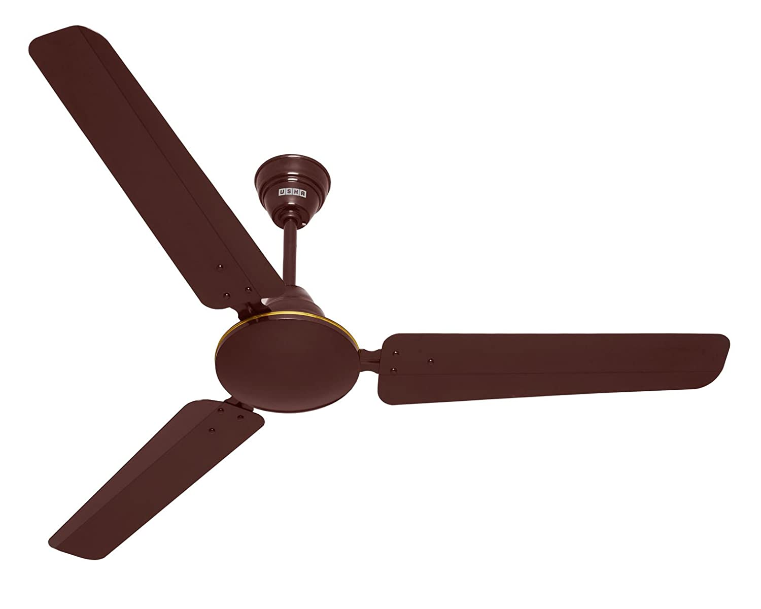 Buy usha technix 1200mm 5 star ceiling fan without regulator rich buy usha technix 1200mm 5 star ceiling fan without regulator rich brown online at low prices in india amazon mozeypictures Gallery