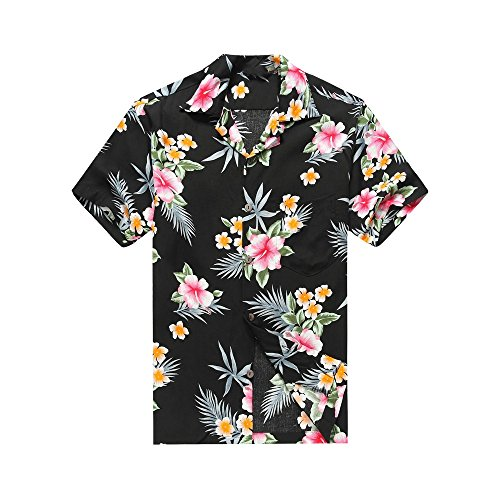 Camisas de flores Happy Hawaii