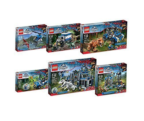 Preisvergleich Produktbild 2015 New Lego Jurassic World 6 Kinds of Package Sets 75915 75916 75917 75918 75919 75920 by LEGO Jurassic World