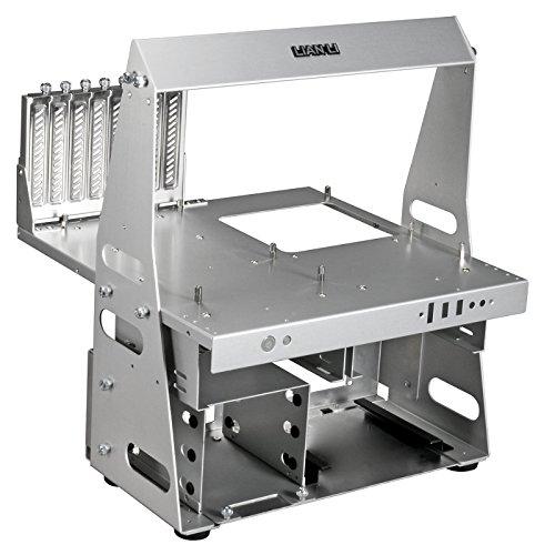 Price comparison product image Lian Li T60–Box of Computer (PC, Aluminum, ATX, Micro-ATX, 12, 014cm (4.73), 35.1cm, 33cm) Silver
