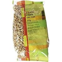 Biospirit Espelta Inflada con Miel de Cultivo Ecológico - 9 Paquetes de 200 gr - Total