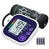 Blood Pressure Monitor, LiSmile Upper Arm Blood Pressure Monitor for Home Use
