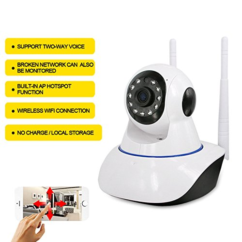 Von häuslicher Sicherheit Netzwerk Kamera, Unterstützung für iOS und Android, Wireless Alarm WiFi HD Netzwerk Kamera ip Network Camera - Wireless Ip-kamera Wanscam