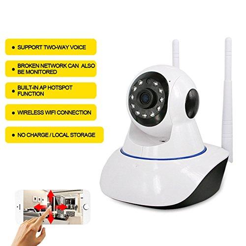 Von häuslicher Sicherheit Netzwerk Kamera, Unterstützung für iOS und Android, Wireless Alarm WiFi HD Netzwerk Kamera ip Network Camera - Ip-kamera Wireless Wanscam