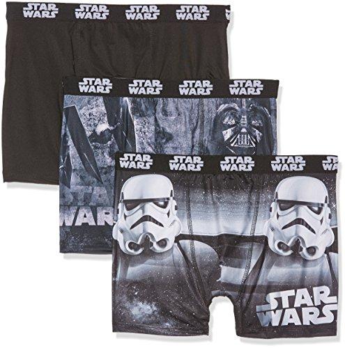 Star Wars SW/AM/1/PK3/B1, Pantalones Cortos para...