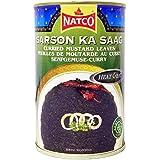 Natco - Sarson Ka Saag - Curri de hojas de mostaza - 450 g - Pack de 2 unidades