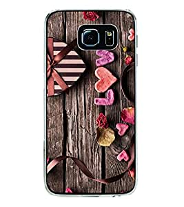 Love Heart 2D Hard Polycarbonate Designer Back Case Cover for Samsung Galaxy S6 Edge+ :: Samsung Galaxy S6 Edge Plus :: Samsung Galaxy S6 Edge+ G928G :: Samsung Galaxy S6 Edge+ G928F G928T G928A G928I