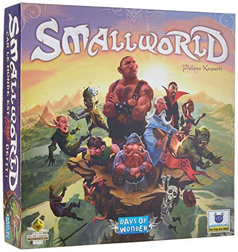 Asmodee - SW01 - Small World - Jeu de Stratégie