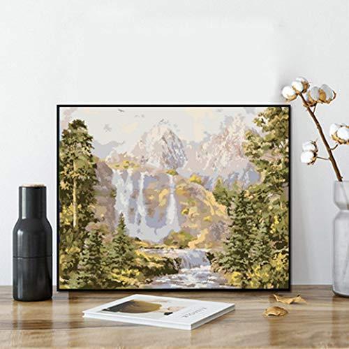 zlhcich Pittura dinamica Pittura a Olio di Paesaggio GX1232 Senza Cornice 40 * 50 cm