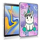 ZhuoFan Funda Samsung Galaxy Tab A 10.5, Case Carcasa Silicona Gel TPU Transparente...