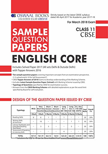 Oswaal cbse sample question papers for class 11 english core mar oswaal cbse sample question papers for class 11 english core mar2018 exam ebook amazon kindle store malvernweather Image collections