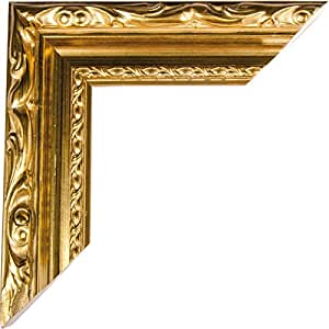 Chaks 1404, Grand cadre PhotoBooth luxe bois 80cm avec moulure, Or