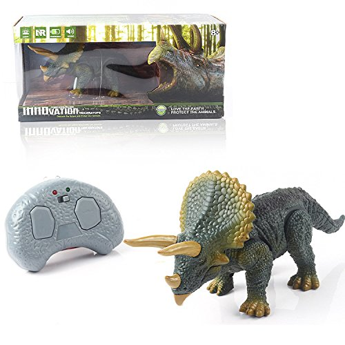 Global Gizmos 53220 Infrared Remote Control Triceratops Dinosaur by Global Gizmos