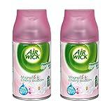 Air Wick Freshmatic recharge spray Magnolia et cerise (Lot de 2)