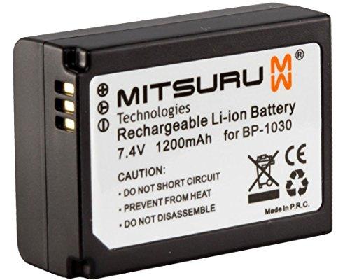 Mitsuru batería para Samsung BP1030 BP1130 ED-BP1030 ED-BP1130 recambio para Samsung NX 1000 1100...