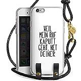DeinDesign Apple iPhone 6 Carry Case Hülle zum Umhängen Handyhülle mit Kette Weil Mein Ruf Kaputt Geht Pietro Lombard