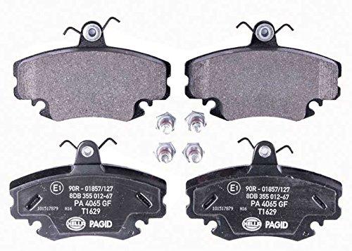 HELLA PAGID 8DB 355 012-671 Kit pastiglie freno, Freno a disco, Assale anterio