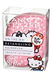 Tangle Teezer Compact Styler Haarbürste, Hello Kitty Pink, 1er Pack (1 x 1 Stück)