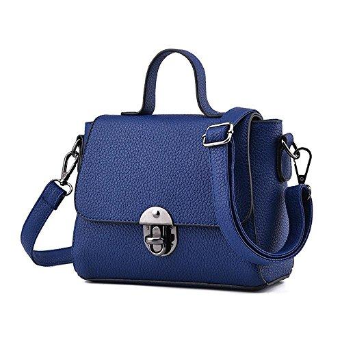 SIMILI cuir sac couvercle verrou vertical petit frais et élégant petit sac sac à main nouveaux sacs à main bandoulière Ms une épaule sac