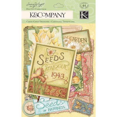 K Company Collection Spring Blossom Pochette de graines pré-découpées Card