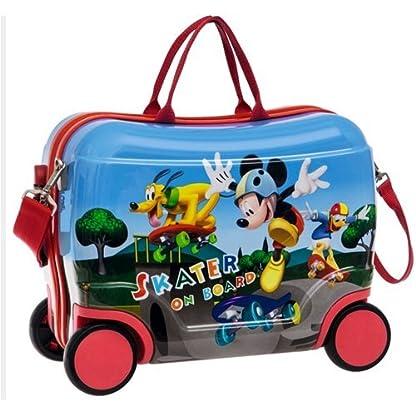 Disney Mickey Maleta de Viaje Rígida (Asiento), 25 Litros