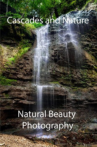 cascades-and-nature-photo-collection-picture-book-english-edition