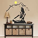 #10: Decals Design Wall Sticker 'Lord Shiva Meditating On Kailash Mountain'