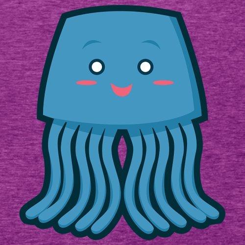 Cute Squid - Damen T-Shirt - 14 Farben Beere