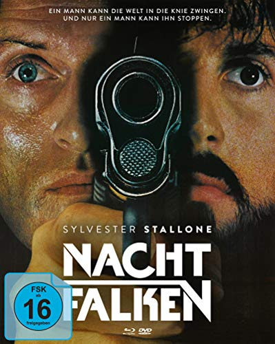 Nachtfalken (Mediabook Cover B, 1 Blu-ray + 1 DVD + 1 Bonus-DVD)