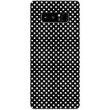 Samsung Note 8 Cases And Covers White And Black Polka So Girly Designer Printed Hard Shell Case