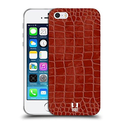 Head Case Designs Porcelaine Texturée Papiers - Croix Étui Coque en Gel molle pour Apple iPhone 7 / iPhone 8 Bordeaux