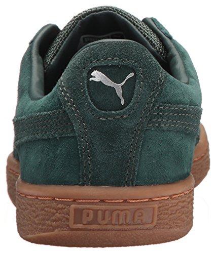 PUMA Unisex-Kids Basket Classic Weatherproof Sneaker  Green Gables-Green Gables  2 5 M US Little Kid