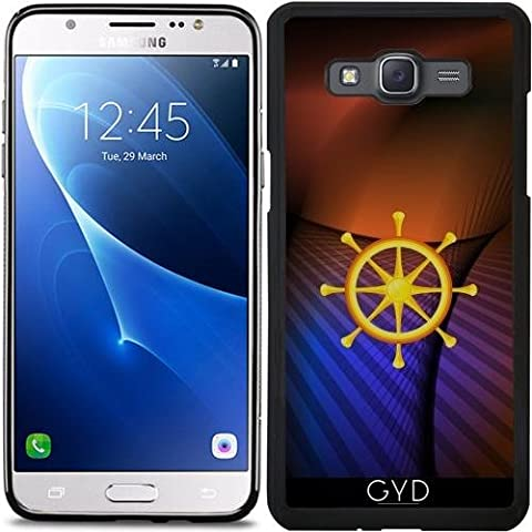 Custodia Silicone per Samsung Galaxy J5 2016 (SM-J510) - Ruota Del Dharma by hera56
