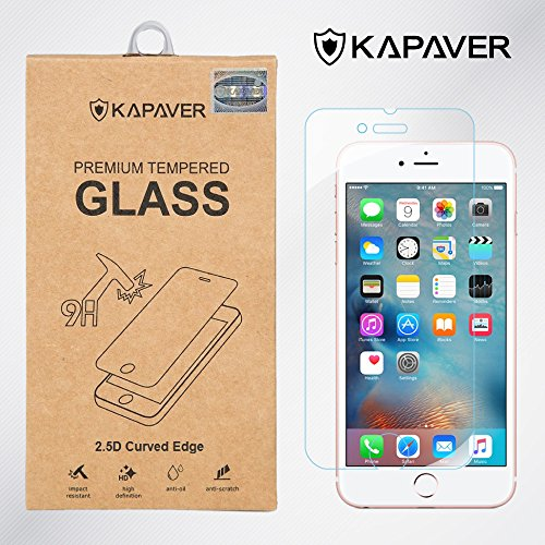 Kapaver 2.5D Curved Edge 9H Hardness Premium Tempered Glass For Apple Iphone 6