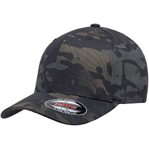 Flexfit Multicam Cap, Black Multicam, L/XL