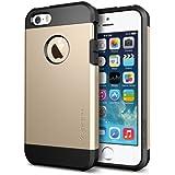 Spigen SGP10584 Tough Armor Series Case für Apple iPhone 5S/5 champagne gold