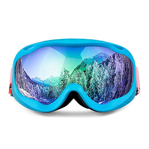 Solarium Schutzbrille Full Frame Skibrille Doppel Anti Fog Große Kugelförmige Männer Und Frauen Skibrille Ausrüstung Kann Myopie Sein Style D Damen Herren