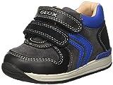 Rishon Boy sono le scarpine bimbo firmate Geox. Dalla forma ergonomica, sostengono la caviglia e sono dotate dell'esclusiva suola perforata brevettata che garantisce comfort e traspirabilit ai suoi piedini. Sottopiede estraibile per praticit ed igien...