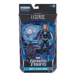 Marvel Legends Series Fantastic Four 15 cm große Marvel's Invisible Woman Action-Figur, 1 Accessoire, 1 Build-A-Figure Teil