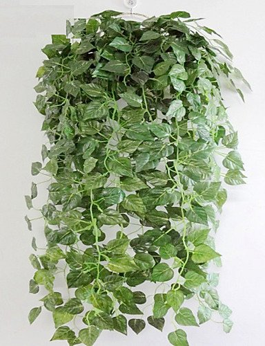 kiuytghnb in rattan, fiori di plastica Simulazione Piante Artificiale Fiori