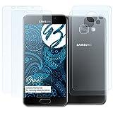 Bruni Schutzfolie für Samsung Galaxy A3 (2016) Folie - 2er Set glasklare Displayschutzfolie